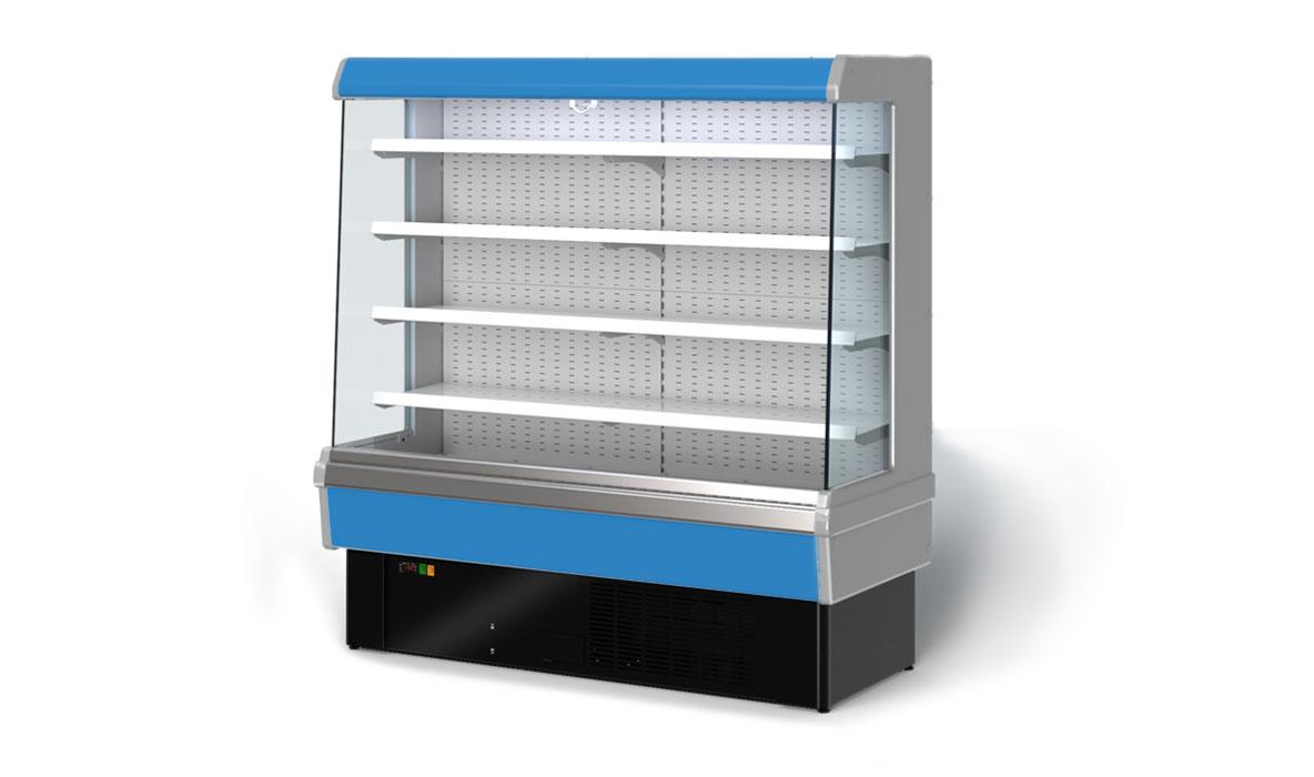 горки холодильные картинки зал чистый, оборудование